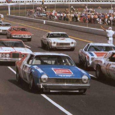 1975 Martinsville Grid