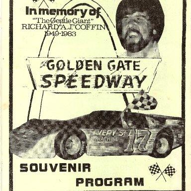 RC MEMORIAL PROGRAM '83