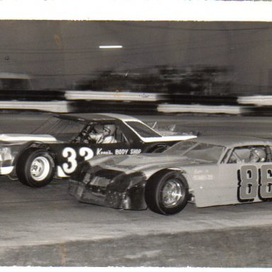 Skip Thornton 86 and Wes Wilson 33