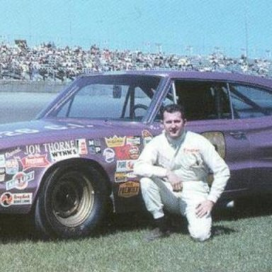 Yarbrough, Lee Roy 1967 and the Jon Thorne Dodge Charger @ Daytona