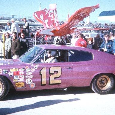 Yarbrough, Lee Roy 1967 in the Jon Thorne Dodge @ Daytona