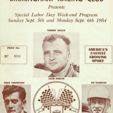 1954 Birmingham Program