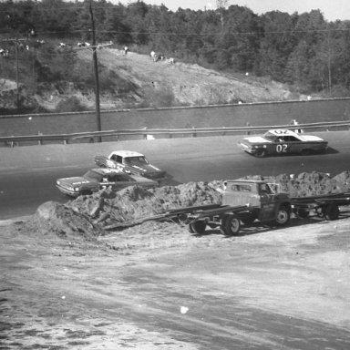NASCAR GRAND NATION RACE HARRIS SPEEDWAY, HARRIS, N.C. 1964 AND 1965