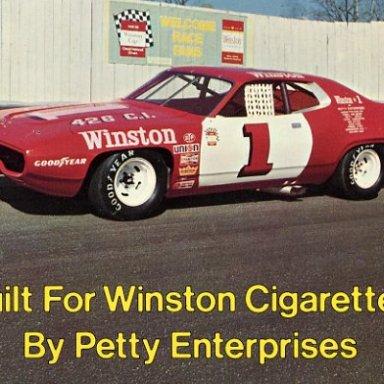 winston show car 1972