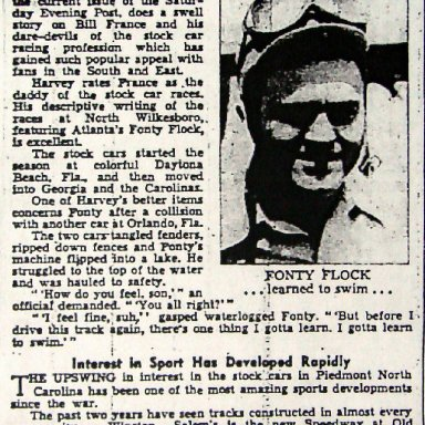 Rise Of Stock Car Racing - August 6, 1948