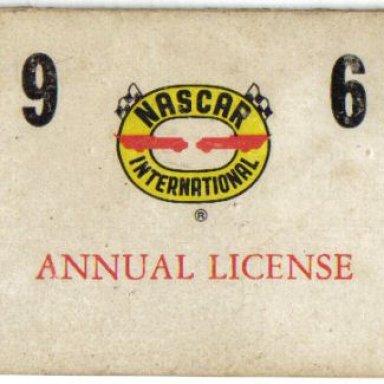 1962 License