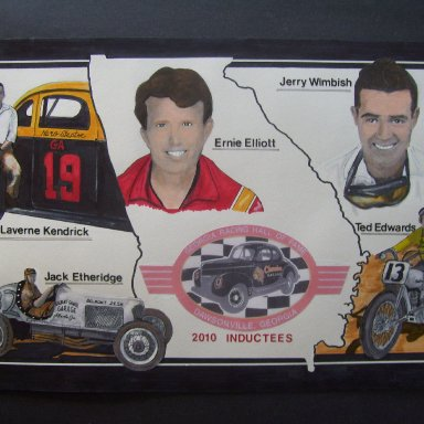 2010 Georgia Racing Hall of Fame inductees