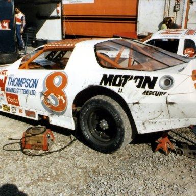 Russ Urlin ACT race at Halifax(NS) 1988 or  1989