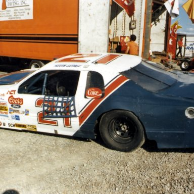 Kevin Lepage ACT race at Halifax(NS) 1988 or 1989