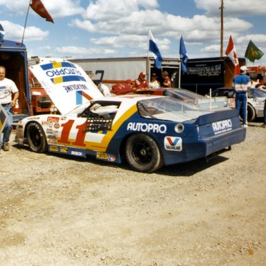 Clyde Leclerc ACT race at Halifax(NS) 1988 or 1989