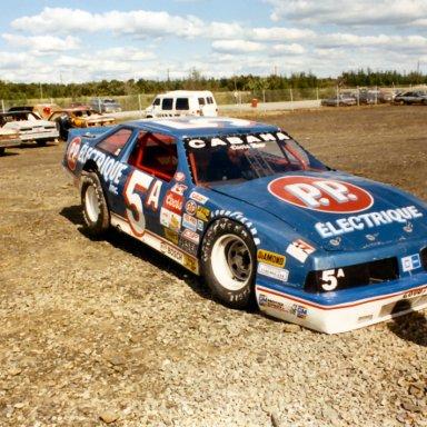 Jean Paul Cabana ACT race Halifax(NS) 1988 or1989