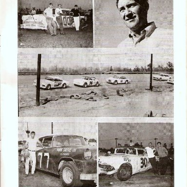 PAGE FROM CONCORD SPEEDWAY SOUVENIR MAGAZINE 1960S' 009