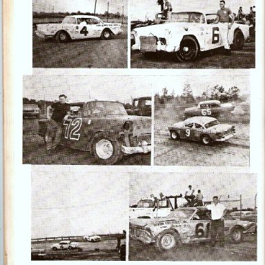 PAGE FROM CONCORD SPEEDWAY SOUVENIR MAGAZINE 1960S' 005