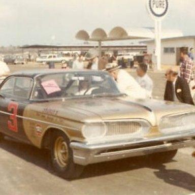 Fireball Roberts 1959 pontiac at Daytona