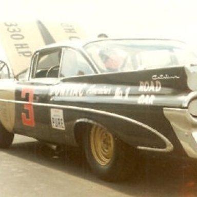 Fireball Roberts 1959 Pontiac