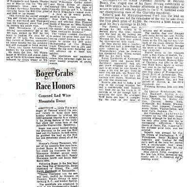 Fireball Roberts Visits Local Drivers 1955