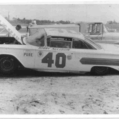 Bobby Allison 1st Daytona car