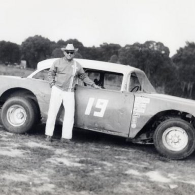 "Bob ""Batman"" Whitaker at DeLand Raceway"