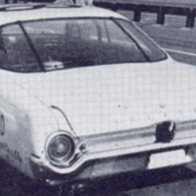 Fred Lorenzen's Starlifter at Atlanta