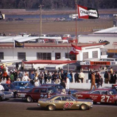 Sportsman cars at Daytona