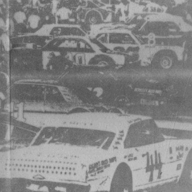44 JB Burbage 1977 Summerville SC Speedway