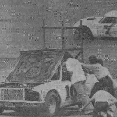 10 Ronnie Daniels 1977 Summerville SC Speedway