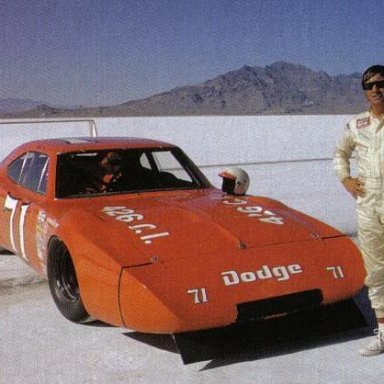 Bobby Isaac at Bonneville Salt Flats