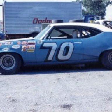 J.D. McDuffie's Buick in 1970