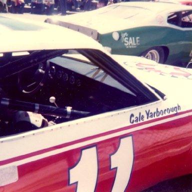 Cale Yarborough 11 Kar Kare Chevy at Hickory April 1974