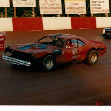 Alton Ames' Plymouth Baracuda