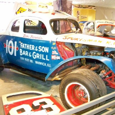 Don Rounds Modified at the Saratoga Automobile Musuem