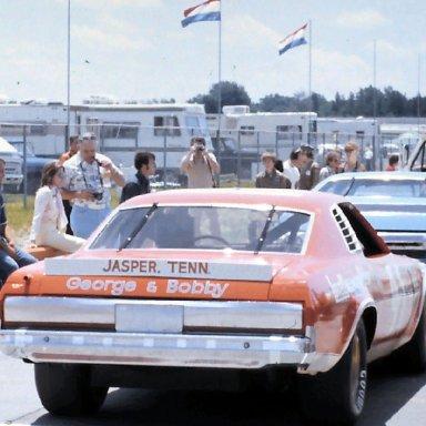 #41 Grant Adcox 1975 Motor State 400