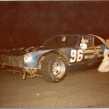 Jim Sewart 1977 Atlantic Speedway