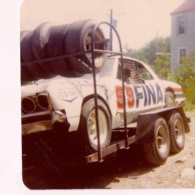 Greg Sewarts 1976 sportsman car