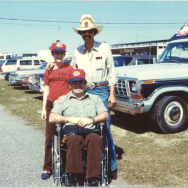 dad and richard petty 1980