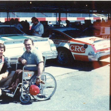 dad and waltrip darlington 1980