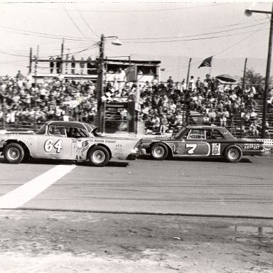 Lester Gupton at Langley Speedway