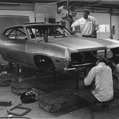 Richard Petty and his 1970 Ford