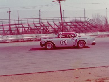Lester Gupton at Langley Speedway 1972