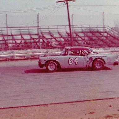 Lester Gupton at Langley Speedway 1972