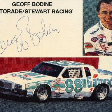 Geoff Bodine 88