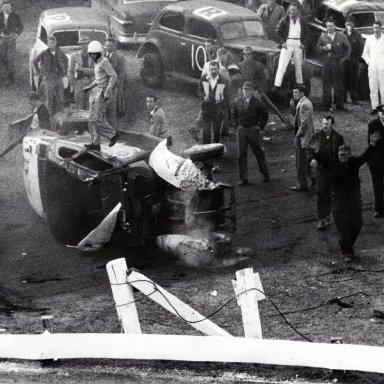 Bowman Gray Stadium - Tobacco Bowl 1955