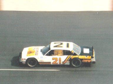 Larry Pearson #21 Busch Bristol Budweiser 200 4-5-86