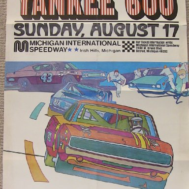 Poster- 1969 Yankee 600