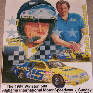 Poster- 1984 Winston 500