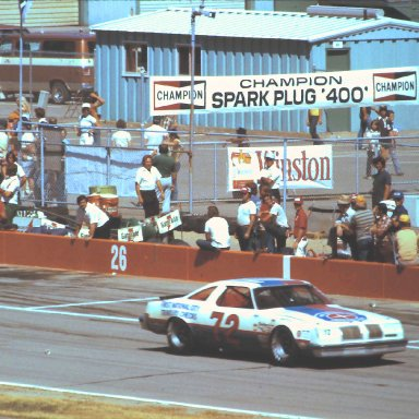#72 Benny Parsons 1978 Champion Spark Plug 400