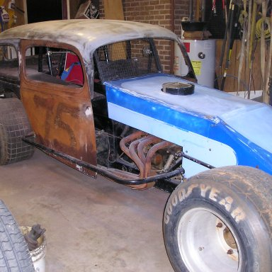 Vintage Stock Car Project