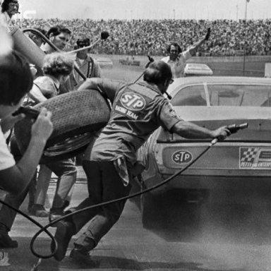 1974 Daytona Pit