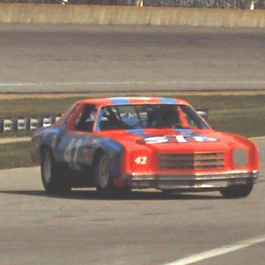 #42 Kyle Petty 1980 Champion Spark Plug 400.