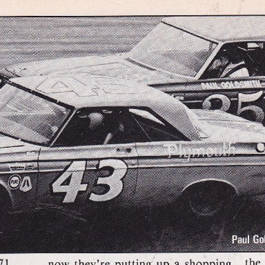 RICHARD PETTY & PAUL GOLDSMITH